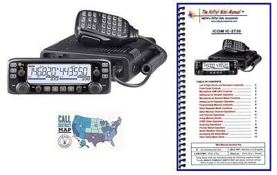 (Icom IC-2730A VHF/UHF 50W Mobile Radio with Nifty! Accessories Mini-Manual)