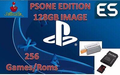 128GB Retropie SD Card PS1 Games For Raspberry Pi 3, Emulation Station