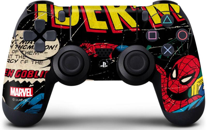 Marvel Spider-Man PS4 Controller Skin - Marvel Comics Spiderman