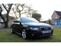Audi A4 2.0TDI S LINE ESTATE 2009 MANUAL FULL EXTRA FSH RECENT SERVICE VERY GOOD CONDITION A6 A5 A7