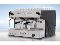 Brasilia Cadetta 2 Group Automatic Espresso Machine with Built-In Cup Warmer