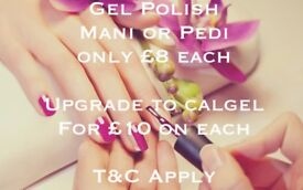 Gel mani or pedi