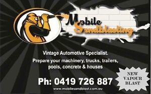 Mobile sandblasting Ipswich Ipswich City Preview