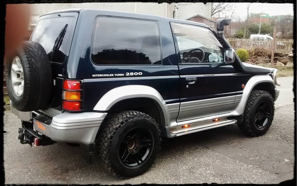 mitsubishi pajero swb 2 8 turbo diesel 4x4 2003 import in falkirk gumtree. Black Bedroom Furniture Sets. Home Design Ideas