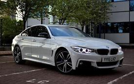 Bmw 4 Series 5 Door M SPORT Genuine 21+ Self Drive Car Hire Policy Wedding car hire   Car Rental  