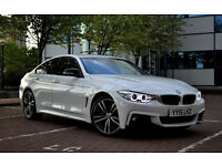 Bmw 4 Series 5 Door M SPORT Genuine 21+ Self Drive Car Hire Policy Wedding car hire | Car Rental |
