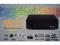 Popcorn Hour A-500, 4K UHD Award Winning Jukebox Media Streamers