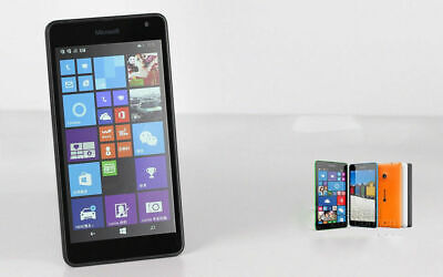 "Original Nokia Lumia 535 8GB 5.0"" Unlocked Windows Dual SIM 3G WIFI Smartphone"