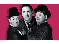3 Tickets to Lee Mack's Laurel & Hardy Classics at Colston Hall - TONIGHT
