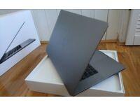 APPLE MACBOOK PRO TOUCHBAR 15 INTEL CORE I7 2.9GHZ 16GB RAM 1TB SSD FLASH FULLY BOXED.