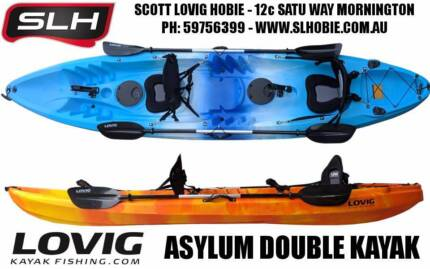 Lovig Asylum Double Fishing Kayak