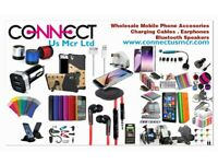 Mobile Phone Accessories Wholesale/Retail (Charging Cables, Plugs, Car FM Modulator, Iphone Screens)
