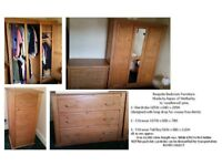 Bespoke Bedroom Furniture made by Aspen of Wetherby