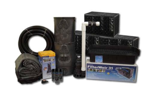 Pond Free Waterfall Kit w/ 18 Ft Stream - Savio Complete Pondless Kit - PF1500