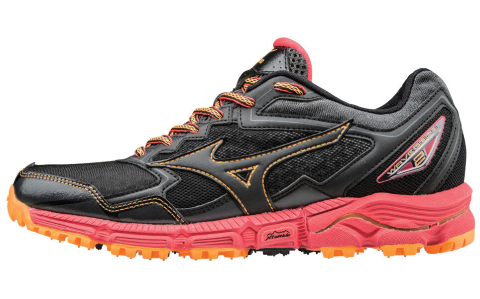 brand new c6be8 cdd2d Mizuno Womes Wave Daichi 2 Trail Runner Black pink 9.5 B US for sale ...