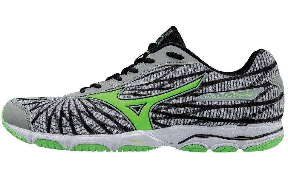 best loved ea966 9b51e Mizuno Men s Wave Hitogami 4 Running Shoe 8 D(m) US Grey green   eBay