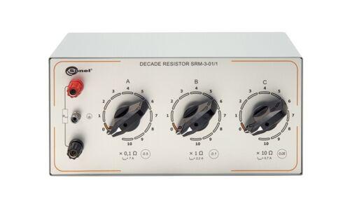 Sonel SRM-3 100k Series Manual Decade Resistor 100 Ω to 111 MΩ