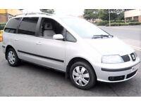 Cheap Seat Alhambra 1.9 Tdi 7 seater F.S.H 3 OWNERS 15 SERVICE STAMPS GALAXY SHARAN Verso ZAFIRA VAN