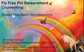 Fly Free Pet Bereavement Counselling NORTH SCOTLAND