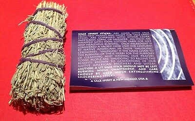 "Sage Smudge Stick 4"" Smudging Pagan Wicca Cleansing  BUY 3 GET 2 FREE (ADD 5)"