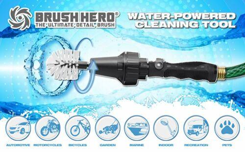 Brush Hero Starter Set   Detail Brush   Connects to Garden Hose   Cars Trucks
