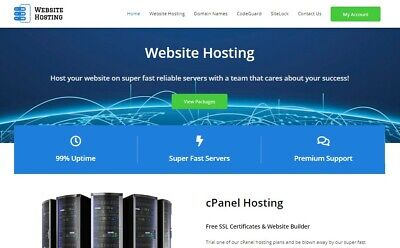 Start Your Own Website Hosting Business - Template Whmcs Reseller Domain