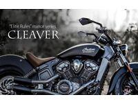 Cleaver CNC Aluminum Mirrors Black Universal
