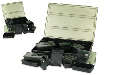 New Fox Royale Loaded System Deluxe Tackle Box - Medium & Large - Carp Fishing