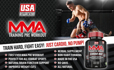 MMA Training Pills - Best Supplement For MMA fighters - Cardio Based Endurance (Best Base For Mma)
