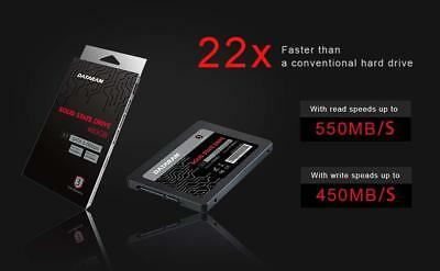 "DATARAM 480GB 2.5"" SATA 6.0 Gbps  2.5"" SATAIII SSD SOLID STATE DRIVE"