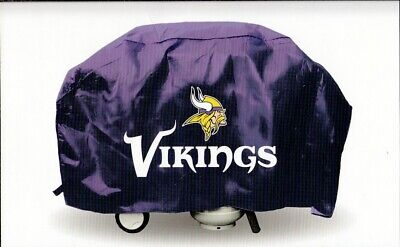 Minnesota Vikings DELUXE Heavy Duty BBQ Barbeque Grill Cover Minnesota Vikings Grill Cover