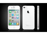 Apple iphone 4s white unlocked, new