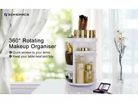 Cosmetic Holder-Makeup Organizer with Adjustable Shelves-*BRAND NEW SEALED IN BOX*