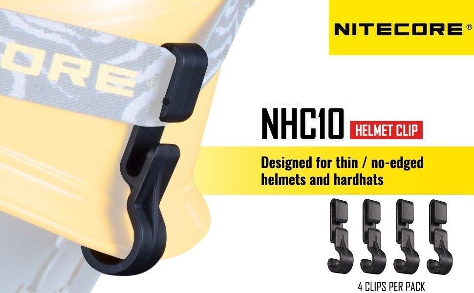 New XTAR Flashlight Headlight Helmet Clip