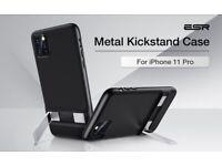 ESR - Apple iPhone 11 Pro - Pro Metal Kickstand Case - Black
