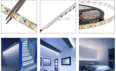 5M 3528 SMD 600Leds Flexible Cold White LED Light Strip IP65-Waterproof