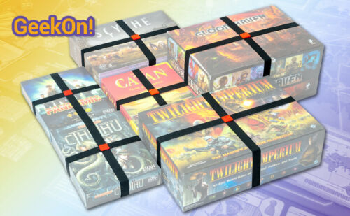 GEEKON Elastic Box Bands - Keep Your Board Games/Puzzles Closed (Set of 10)