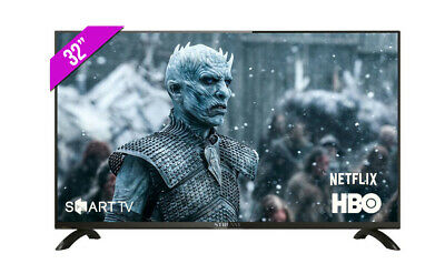"TELEVISION HD SMART TV 32"" LED ANDROID NETFLIX HBO"