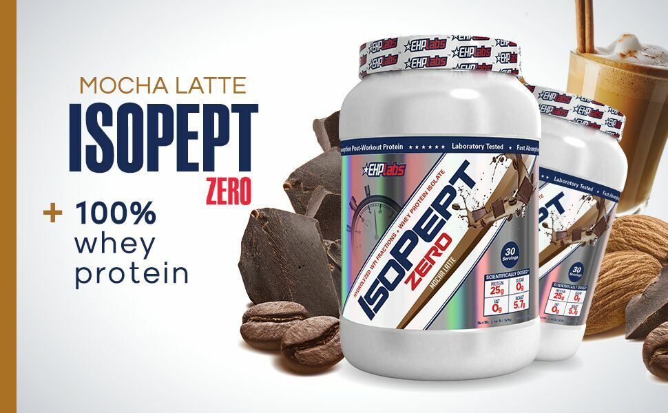 isopept zero whey protein isolate 5 pounds