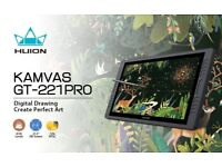 Huion KAMVAS GT-221 PRO HD IPS 8192 Pen Display Professional Graphic Drawing tabet