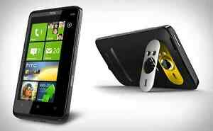 NEW HTC HD7 T9295 16GB Black Unlocked Smartphone WiFi Video XBox Surround Sound
