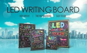 LED Write Board Promotion Sale!! Perfet for retail, restaurant and gift!