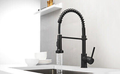 Commercial Style Pull Down Kitchen Faucet