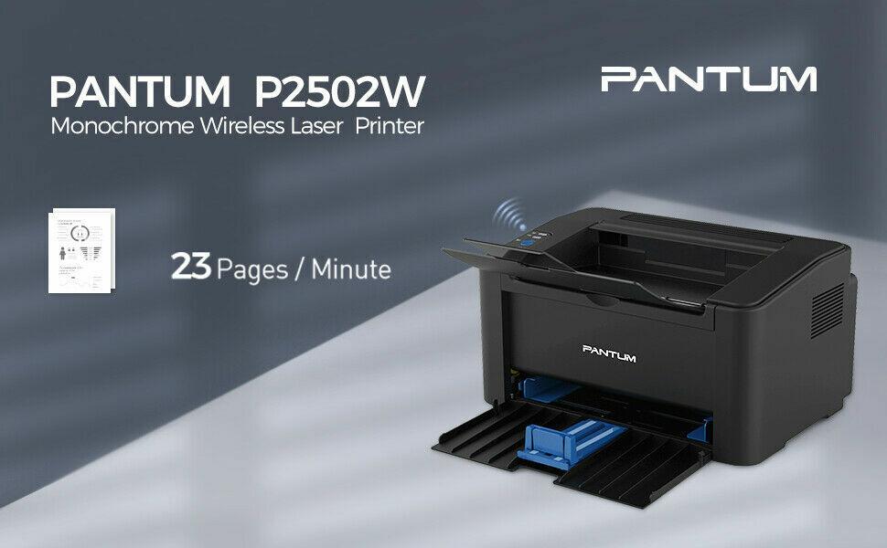 NEW w BOX Pantum P2502W Wireless LASER Printer NO Toner or I