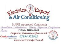Electricians and AC engineers serving East Anglia, all types and sizes of works