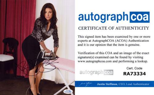 JULIA LOUIS-DREYFUS signed Autographed 8X10 PHOTO - VEEP Seinfeld ACOA COA