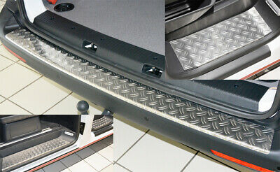 SET für MERCEDES SPRINTER W906 Ladekantenschutz Trittbretter Alu Riffel 1,5mm