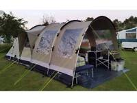 Tent outwell trout lake 4 man tent with extension