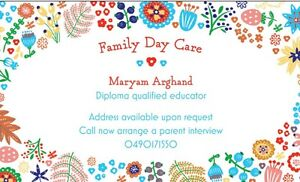 Maryam'S Family Day Care Rooty Hill Blacktown Area Preview