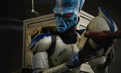 STAR WARS / CLONE WARS~CAD BANE / DENAL DISGUISE~SIXTH SCALE FIGURE~SIDESHOW~MIB